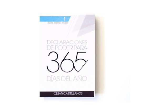 DECLARACIONES DE PODER VOL 1 – CESAR CASTELLANOS