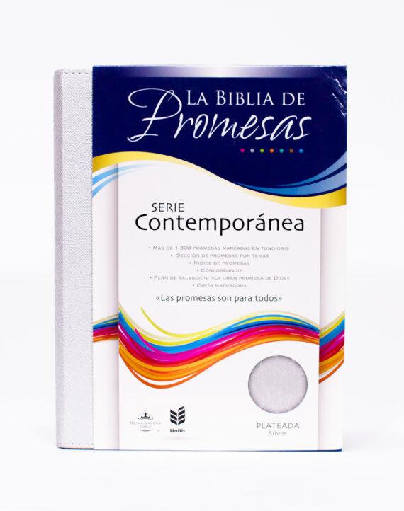 BIBLIA PROMESAS ED CONTEMPORANEA/PLATEADA