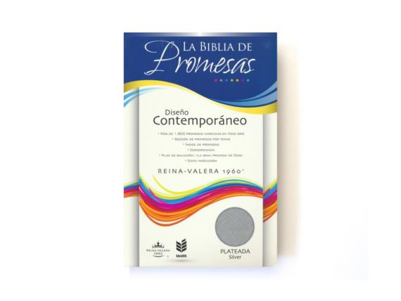 RVR60 - BIBLIA DE PROMESAS CONTEMPORANEA - IMITACION PIEL - PLATA