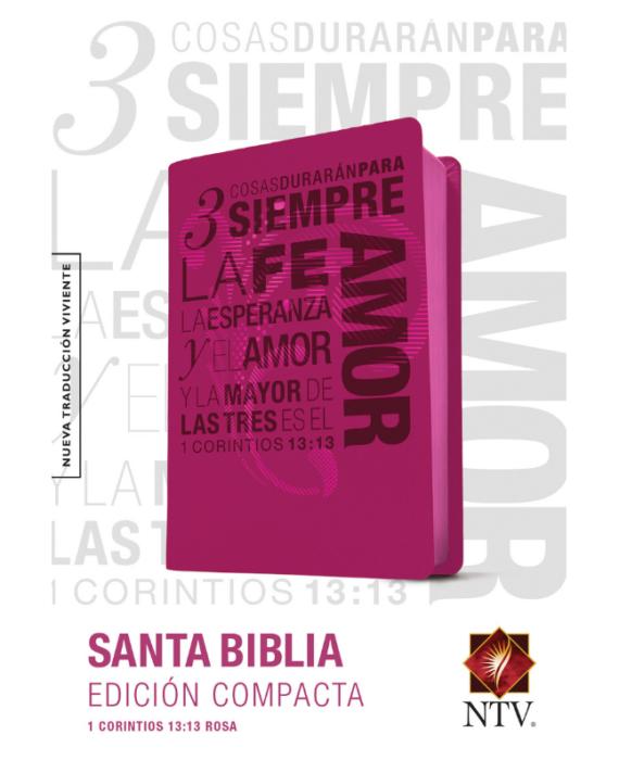BIBLIA EDICION COMPACTA SENTIPIEL/ROSA