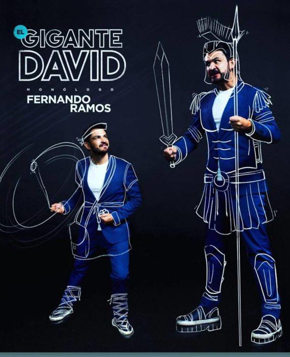 DVD MONOLOGO - EL GIGANTE DAVID