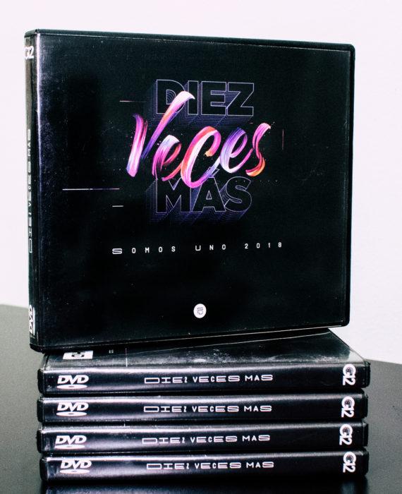 DVD CONVENCIÓN DIEZ VECES MAS - SOMOS UNO 2018