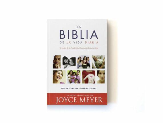 NVI - BIBLIA DE LA VIDA DIARIA JOYCE MEYER - TAPA RUSTICA