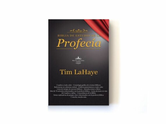 Biblia De Estudio De La Profecia/Imitacion Piel