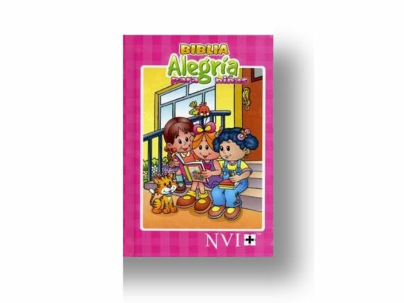 NVI - BIBLIA ALEGRIA - TAPA DURA - FUCSIA