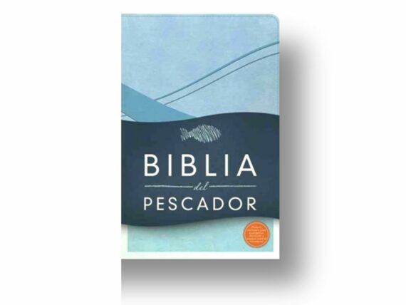 RVR60 - BIBLIA DEL PESCADOR EDICION ESPECIAL - SIMILPIEL - AZUL COBALTO