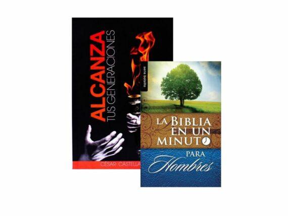 ALCANZA TUS GENERACIONES + BIBLIA EN UN MINUTO PARA HOMBRES