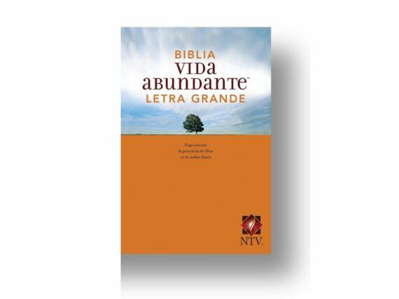 NTV - BIBLIA VIDA ABUNDANTE LEGRA GRANDE - TAPA RUSTICA