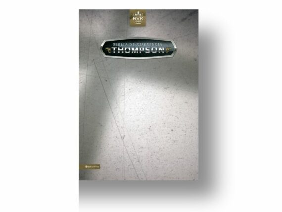 RVR60 - BIBLIA THOMPSON DE REFERENCIAS - PIEL ESPECIAL - NEGRA