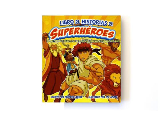 LIBRO DE HISTORIAS DE SUPERHÉROES