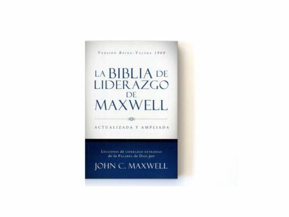 Biblia De Liderazgo De Maxwell RVR (Actualizada Y Ampliada) Tapa Dura