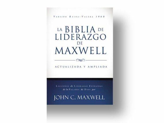 RVR60 - BIBLIA DE LIDERAZGO DE MAXWELL - IMITACIÓN PIEL - CAFE