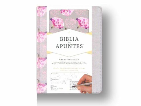 RVR60 - BIBLIA DE APUNTES - GRIS/ROSA